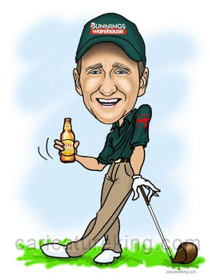 casaual golfer birthday gift idea